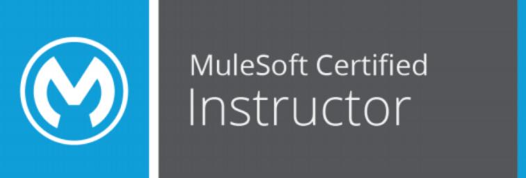 MuleSoft Certified Instructor